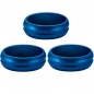 Preview: Mission - F-Lock Aluminium Rings 2mm *Blau*